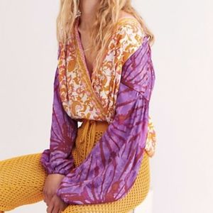 NWOT | Free People | Crusin Together Top